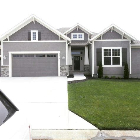 houses painted gray modern exterior paint colors for houses gauntlet gray