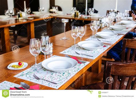 what is table set up lunch set up table stock photo image 51550077