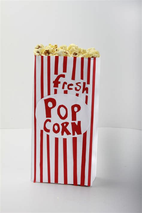 How To Make Popcorn Out Of Paper - how to make a popcorn box out of paper 28 images diy