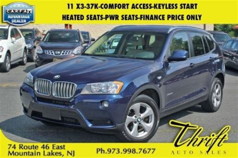 bmw comfort access keyless entry buy used 11 x3 37k comfort access keyless start heated