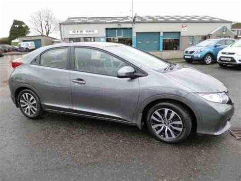 honda civic 2013 1 6 diesel honda 2013 civic 1 6 i dtec ex diesel grey manual car for