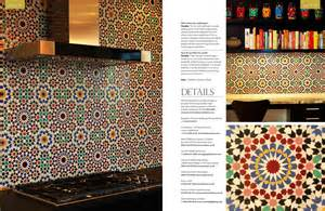 moroccan tile kitchen backsplash uk magazine features fassi moroccan tile backsplash the