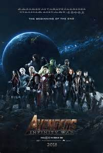 Infinity Made By Infinity War Poster Fan Made By Tldesignn On