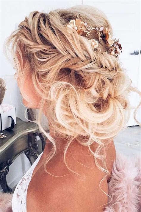 Wedding Hairstyles Hair Out by 2017 Trending Wedding Hairstyles Best Dreamiest Bridal