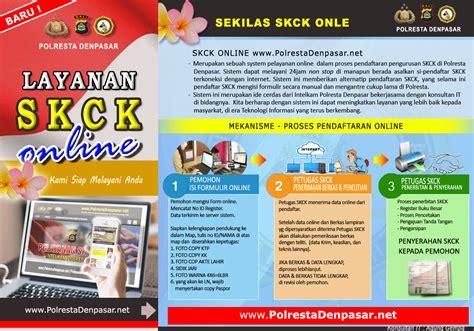 pembuatan skck online bekasi syarat dan cara membuat skck online hanamera