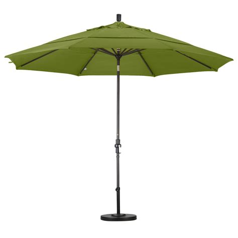 California Umbrella 11 Ft Aluminum Double Vent Tilt Patio Umbrellas On Sale Free Shipping