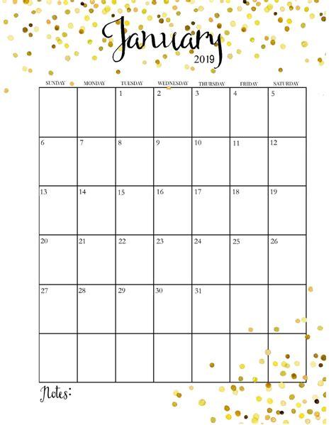january 2019 calendar 2019 monthly calendar printable bralicious co