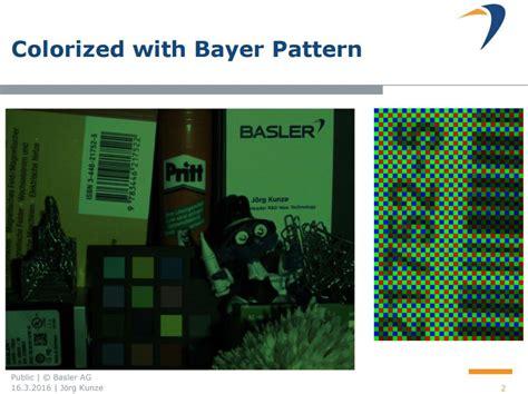 bayer pattern and image quality image sensors world basler improves on demosaicing algorithms