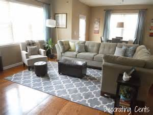 how to decorate with rugs decorating cents new family room rug