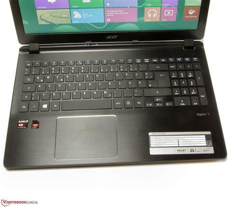 Laptop Acer V5 552g review acer aspire v5 552g notebook notebookcheck net reviews
