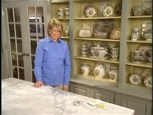 How To Organize Kitchen Cabinets Martha Stewart How To Display A Collection In A Cabinet Video Martha