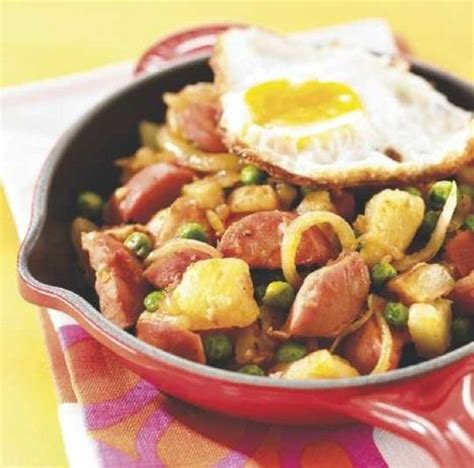 cuisiner v馮騁arien perinteinen pyttipannu hash browns with sausage stuff to