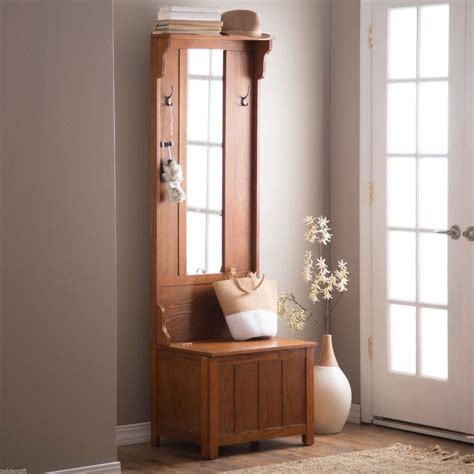 entryway storage bench coat rack entryway storage bench with coat rack oak stabbedinback