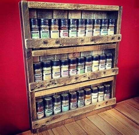 build a spice rack from pallets pallet spice rack ideas pallet spice rack pallets and