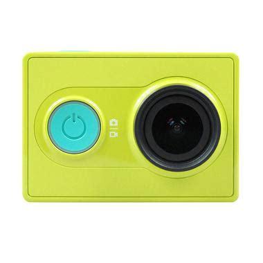 blibli yi camera jual xiaomi yi green action camera simple pack online