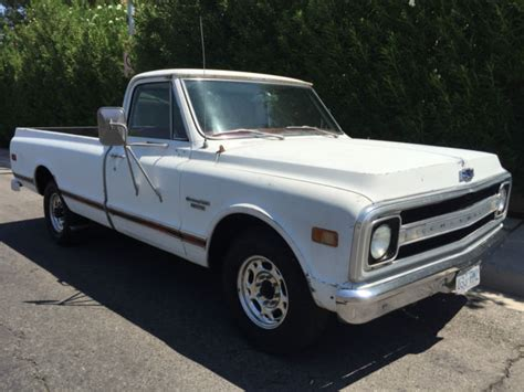 chevrolet 69 truck 1969 chevy truck c 20 classic cer special 69