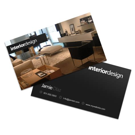 interior design business cards beautiful home interiors