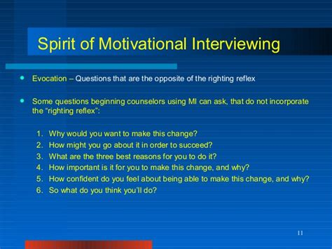 Mip Mba Motivational Questions by Exles Of Interviewing Questions