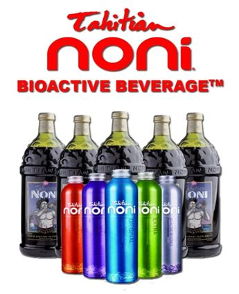Teh Noni tahitian noni bioactives beverages
