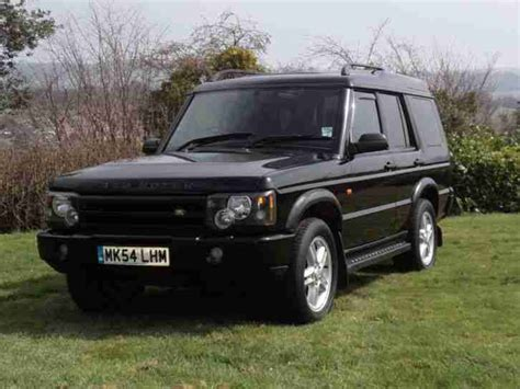 land rover discovery black 2004 land rover defender 300 tdi on galvanized chassis car for