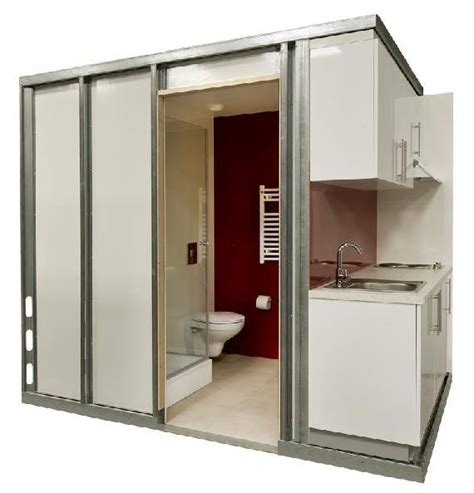 prefab bathrooms pods