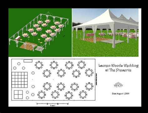 wedding reception layout generator chairs dance floor outdoor ceremony outdoor reception