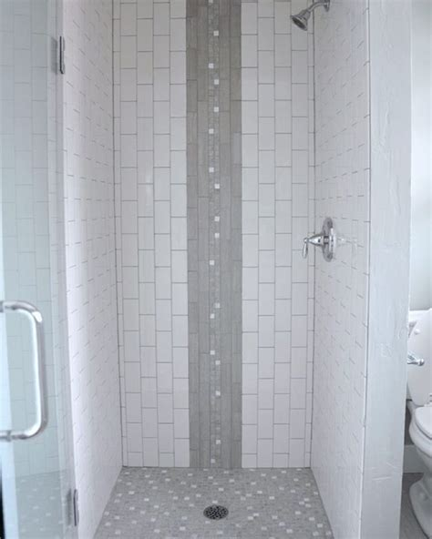 vertical tile shower vertical shower tile my favorite part was how the white