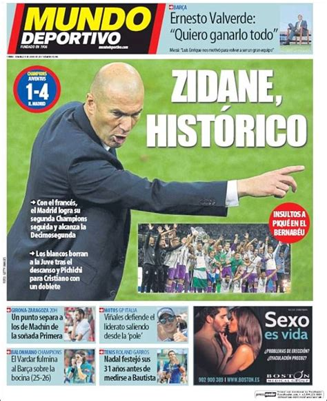 mundodeportivo mundo deportivo el diario deportivo online real madrid are masters of the universe in spanish press
