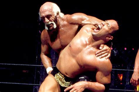 dwayne the rock johnson vs hulk hogan wwe classic of the week remembering the rock vs hulk