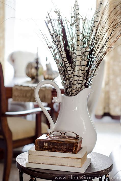 fall centerpieces with feathers 12 magical ways to decorate with feathers pheasant