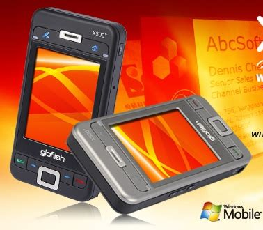 E Tens Glofiish X500 The Worlds Thinnest Pocket Pc by E Ten Glofiish X500 Ppc Phone Itech News Net