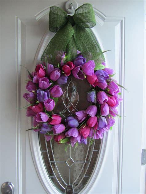 items similar  spring wreath tulip wreath front door