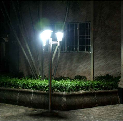 solar led outdoor l post best outdoor solar lighting best solar led outdoor
