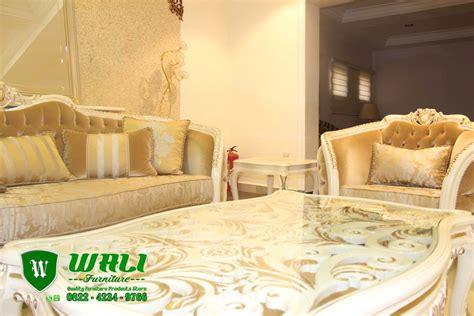 Kursi Tamu Model Eropa sofa mewah modern ukir jepara model eropa terbaru wali