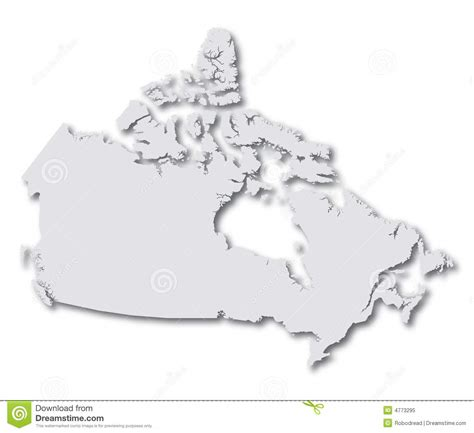 canada map vector map canada vector royalty free stock photo image 4773295