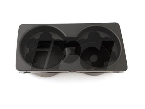 volvo center console cup holder  p  xc black