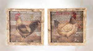 2 tableaux style cagne r 233 tro sur bois 224 motifs de poules