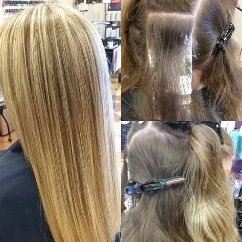 haircuts windham me before and after cut and balayage ombre color yelp of hair