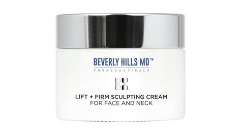beverly hills face cream beverly hills md lift and firm sculpting cream an anti