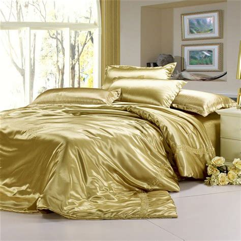 wholesale bedding sets comforters royal gold satin bedding luxurious bedroom pinterest