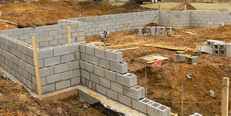 building a concrete block house concrete block building plans find house plans
