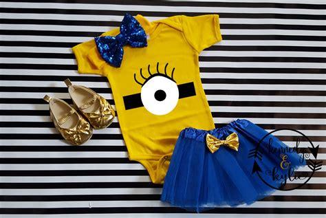 Set Shoes And Tutu Blackwhite1 For Baby 3 12 Bulan minion birthday tutu costume for baby toddler