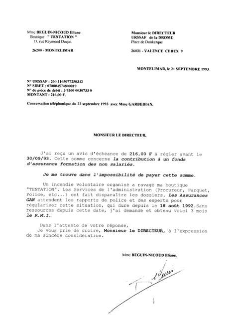 Lettre De R Siliation Urssaf de la corruption au crime d etat censure et l urssaf