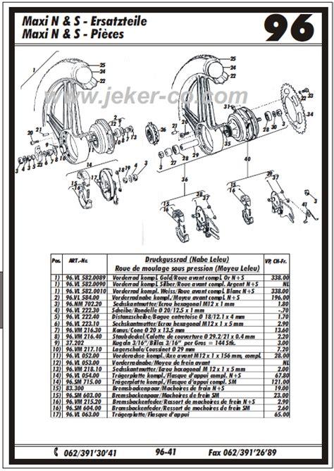 Ab Welchem Alter Darf Man Motorrad Fahren Schweiz by Puch Maxi E50 Motor Explosionszeichnung