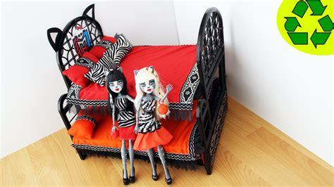 camas de monster high manualidades para mu 241 ecas litera cama triple sorpresa