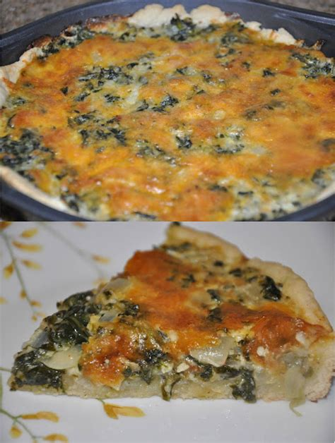 spinach quiche with cottage cheese ingredients preparation