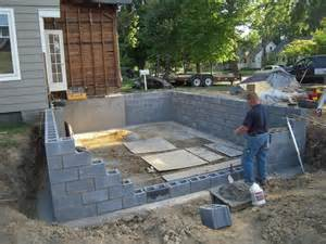 Prefab Sunroom Pole Building Built On Concrete Block Foundation Pictures