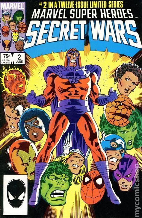 marvel super heroes secret wars a novel of marvel super heroes secret wars 1984 comic books