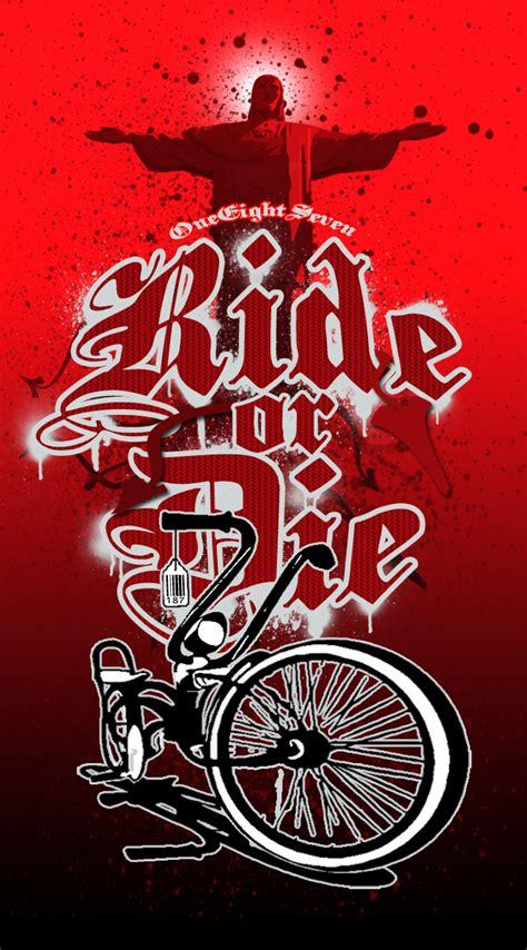 Kaos Bikers Pin Cor Ride Or Die 187 ride or die by 187designz on deviantart