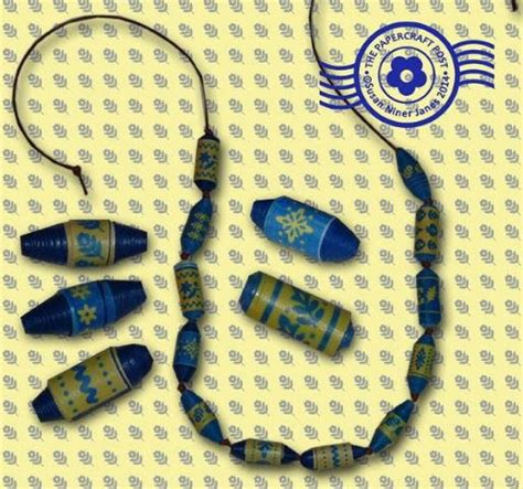 printable paper jewelry how to make paper beads with printable templates